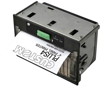 PLUS4 panel mounting printer